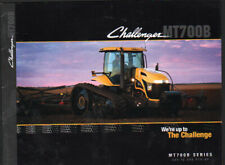 """Challenger """"MT700B Series"""" 225 to 265hp Track Tractor Brochure Leaflet"""