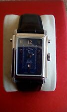 ROTARY  ELITE REVERSO GENTS DRESS WATCH WITH DATE SWISS AUTOMATIC MECHANISM