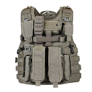 Marom Dolphin Adjustable Semi Modular Tactical Vest (One Size) - TV7776