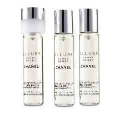 Chanel Allure Homme Sport EDT Travel Spray Refills (3 Refills) 3x20ml Men's