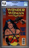 Wonder Woman 83 CGC Graded 9.8 NM/MT Brain Bolland Bondage DC Comics 1994