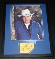 Bobby Bare Signed Framed 11x14 Photo Display