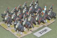25mm napoleonic / french - chasseur a cheval 12 figures - cav (37634)