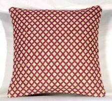 "Indian Vintage Handwoven Jute Kilim ""20x20"" Cushion Cover Decorative Rug 7001"