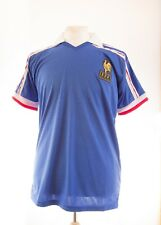 La France rétro coupe du monde 1986 platini 10 Football shirt Maillot XL Neuf EURO 2016