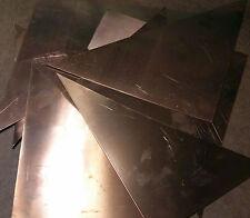 Copper Scrap - 5 Pounds - Triangles & Trapezoids -  FREE USA SHIPPING