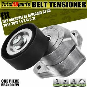 Drive Belt Tensioner for Jeep Cherokee KL Renegade B1 BU 2014-2018 With Pulley