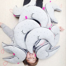 Baby Noctilucent Cushion Toys Moon Cushions Kids Bed Room Cuddle Doll Pillow NEW