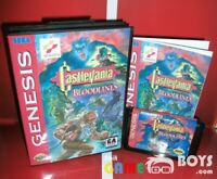 Castlevania Bloodlines Cartridge for SEGA Genesis Complete Boxed USA NTSC-U/C
