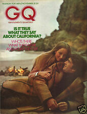 GQ - Gentlemen's Quarterly November 1972 -California Fashions - Gene Washington