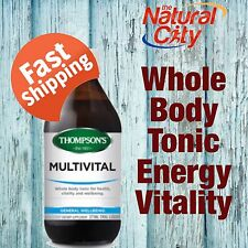 Thompsons MultiVital, 375mls- Herbal Tonic for the whole body