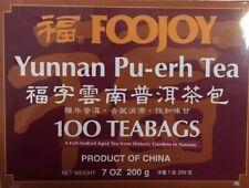 FooJoy - Yunnan Pu-Erh Tea - 100 Tea Bags-Puer tea-FREE SHIPPING