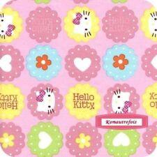 ❤NOUVEAU TISSU PATCHWORK ENFANT HELLO KITTY 45X55CM