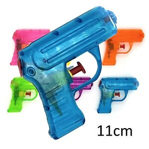 Water Pistol - Pocket Sized Neon Colour (11cm) - Buy 4+ Pistols for 40% OFF