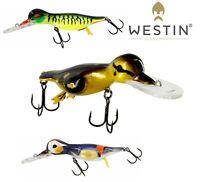 Westin Lures DANNY THE DUCK Crankbait 14cm 48g Lure Bait Predator Pike Fishing