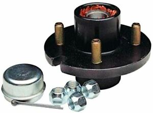 """4 Bolt Trailer Hub Kit for 1"""" Spindle, 1000 lbs Capacity - Reliable 1-100-04-05"""