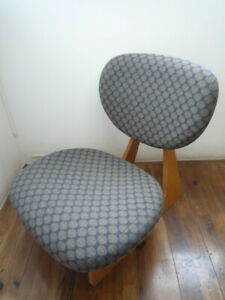 USED Excellent+ Tendo Mokko Low Seat Chair Cho Daisaku Low Chair from JAPAN