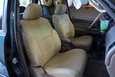 TOYOTA 4RUNNER 1986-2002 IGGEE S.LEATHER CUSTOM FIT SEAT COVER 13COLORS AVAILABL