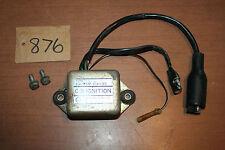 1977 Honda CR 125M Elisinore Ignition CDI Box Igniter Box OEM 77