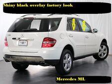 2006-2011 Mercedes Benz ML W164 Shiny Black Window sill Overlay trim