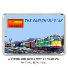RETRO TRIANG HORNBY FREIGHTMASTER SET BOX ART FRIDGE /LOCKER MAGNET