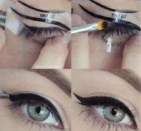 Preliner Eyeliner 2 Schablonen Smokey Eye Bottom Liner Make Up