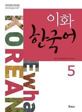 [Ewha Korean] Language Book 5 With CD Korea Textbook