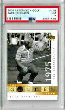 2001 Upper Deck Golf Jack Nicklaus #119 PSA 7