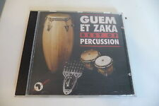 GUEM ET ZAKA CD BEST OF PERCUSSION.L'ABEILLE / LE SERPENT ...