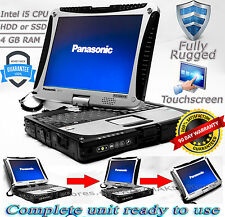 Panasonic Toughbook CF-19 MK5 i5 4-8GB RAM 128GB-1TB HDD/SSD Rugged Laptop TOUCH