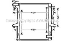 AVA COOLING SYSTEMS Radiador MTA2202