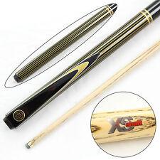Elegante BCE GOLD pin-stripe extra liscia 2pz ASH Pool Snooker Cue - 9.5 mm tip