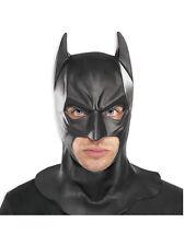 Vestido de lujo Látex De lujo para Adultos Completo Super Héroe de máscara de Batman Caballero de la noche de 4893