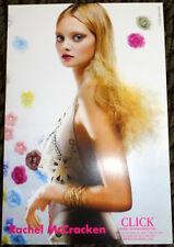 Rachel McCracken model agency card Victoria Secret fashion model vogue elle