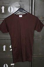 Sous Vêtement - Tee Shirt Homme TIM Dropnyl marron Taille 1 Vintage neuf