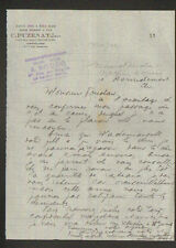 """LE RAINCY (93) MACHINES AGRICOLES C. PUZENAT """"A. BOUCQ Représentant"""" en 1924"""