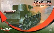 Polaco Tank 7 Tp (tarde / sola torreta) Septiembre de 1939 1/72 Mirage