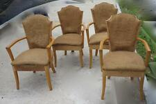 Serie de 4 fauteuils art deco