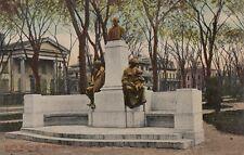 Antique POSTCARD c1907-20 White Memorial Monument Fayette Park SYRACUSE NY 13443