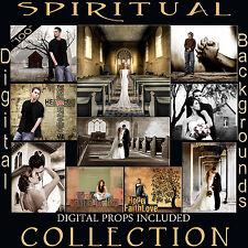 Digital Spiritual Backdrops Christian Themed Photography Backgrounds Church 1K