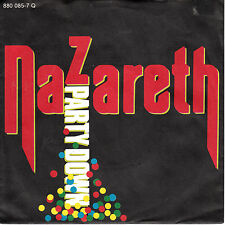 """7"""" 45 TOURS ALLEMAGNE NAZARETH """"Party Down / Do You Think About It"""" 1984"""