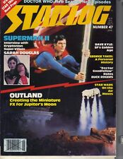 CHRISTOPHER REEVE SUPERMAN Starlog Magazine 6/81 OUTLAND GEORGE TAKEI DOCTOR WHO