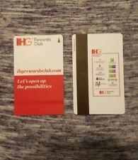 IHG Hotel Room Key Card, Holiday Inn IHG Rewards, contains 1, swipe