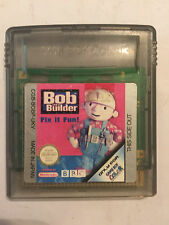 NINTENDO GAME BOY COLOR GBC GAME CARTRIDGE BOB THE BUILDER FIX IT FUN!