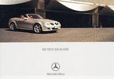 MERCEDES SLK R171 200 350 55 AMG Roadster Cabrio Prospekt Brochure 2004 13