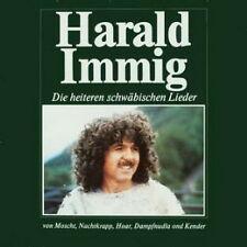 """12"""" Harald Immig Die heiteren schwäbischen Lieder (Moscht, Bimberle) 80`s"""