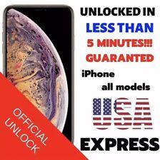 Factory Unlock Service/Express Att AT&T iPhone 4 5, 6, 6S, 7, 8++CLEAN IMEI