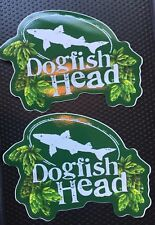 Dogfish Head Brewing ~ Craft Beer Stickers ~ 60 Minute Ale ~ 90 Minute Ale