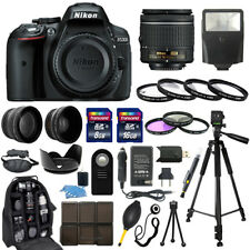 Nikon D5300 DSLR Camera + 18-55mm NIKKOR Lens + 30 Piece Accessory Bundle