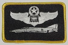 Patch US Air Force, GAF Uniform Insignia Command Navigator f-4 Phantom... a3573
